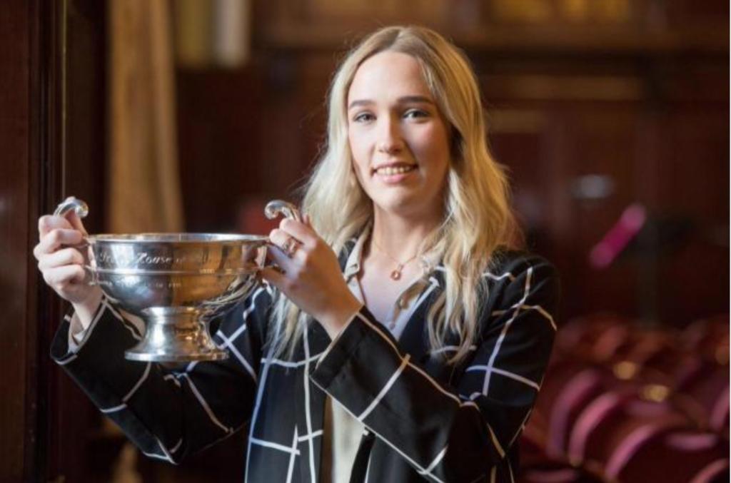 Emma O'Halloran Winner of Apprentice Award